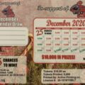 Christmas Calendar Draw Tickets